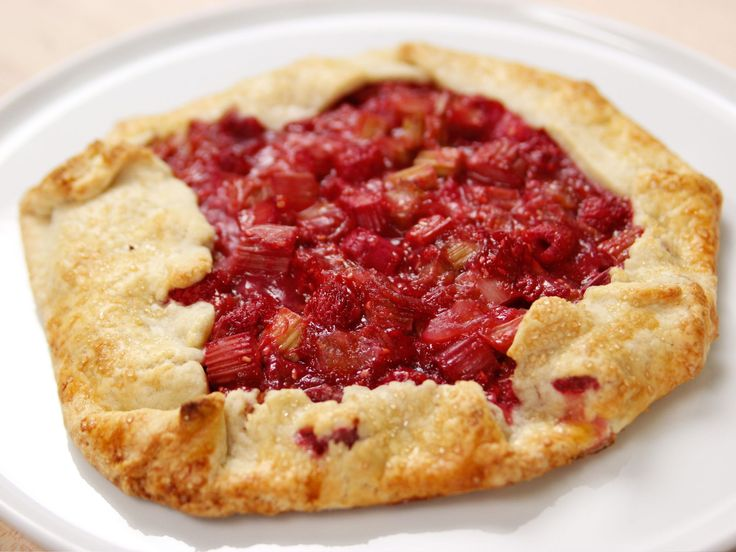 Cooking For Jeffrey Series of New Shows on Food NetworkRaspberry Rhubarb Crostata recipe from Ina Garten via Food Network