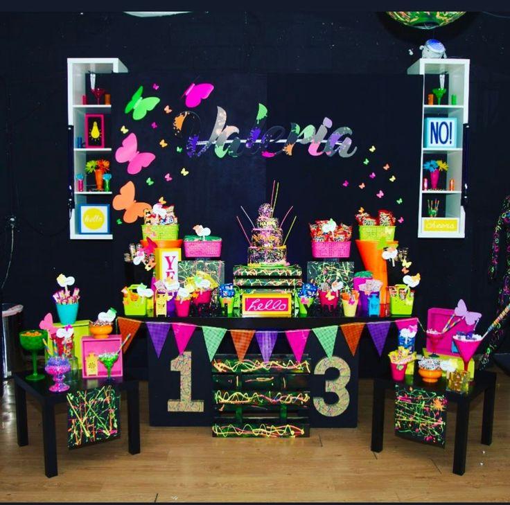 Best 25+ Neon Party Themes Ideas On Pinterest