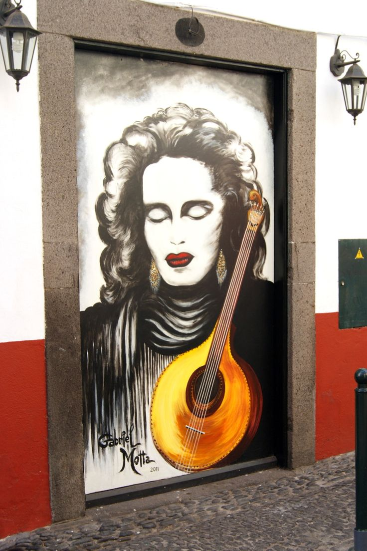 Decorated doors in Funchal's Old Town (Madeira, Portugal)