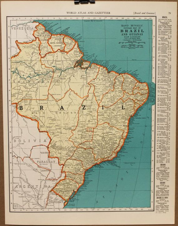 Best Maps Images On Pinterest Antique Maps Old Maps And - Argentina map vintage