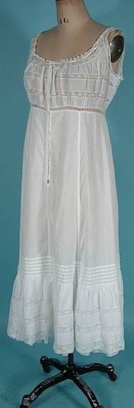 c. 1912-1914 Edwardian Princess Petticoat