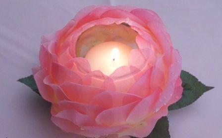 como hacer un centro de mesa para quinceanera con rosas artificiales - Google Search