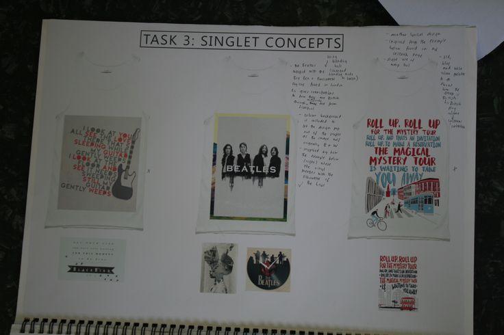 Singlet concept designs 2