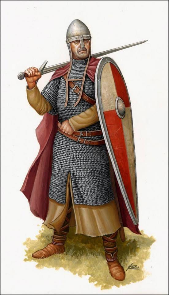 Cavaliere normanno, XI secolo