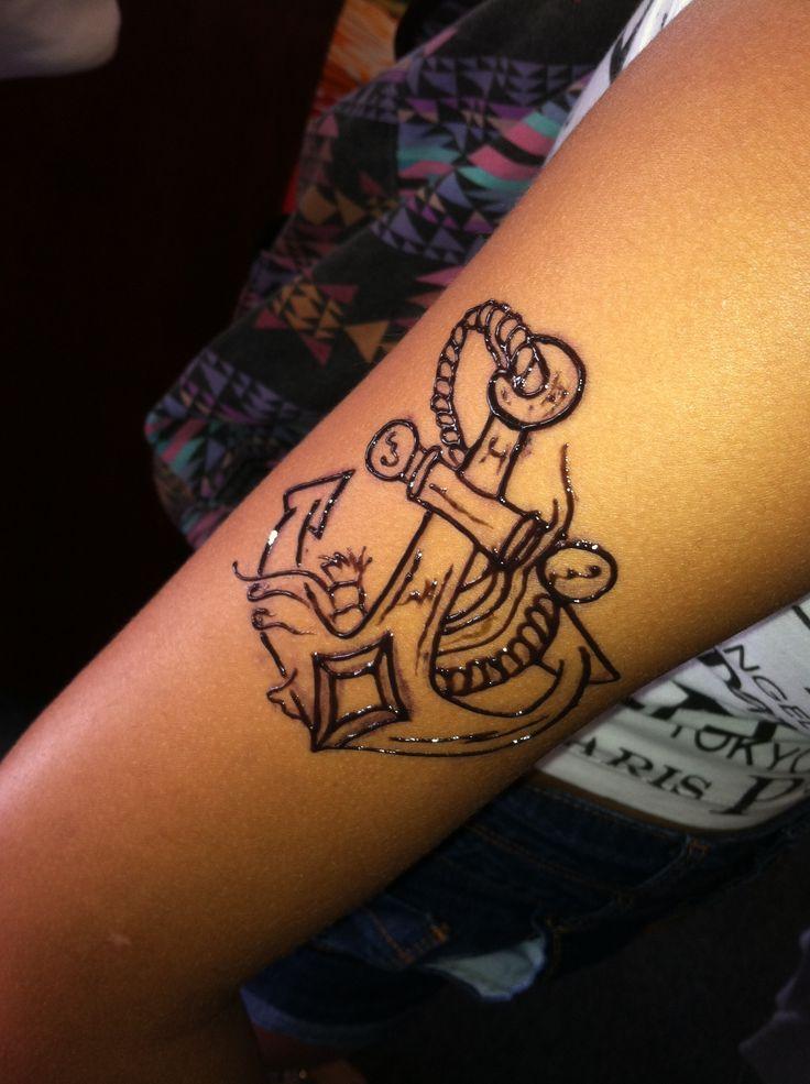 Anchor henna