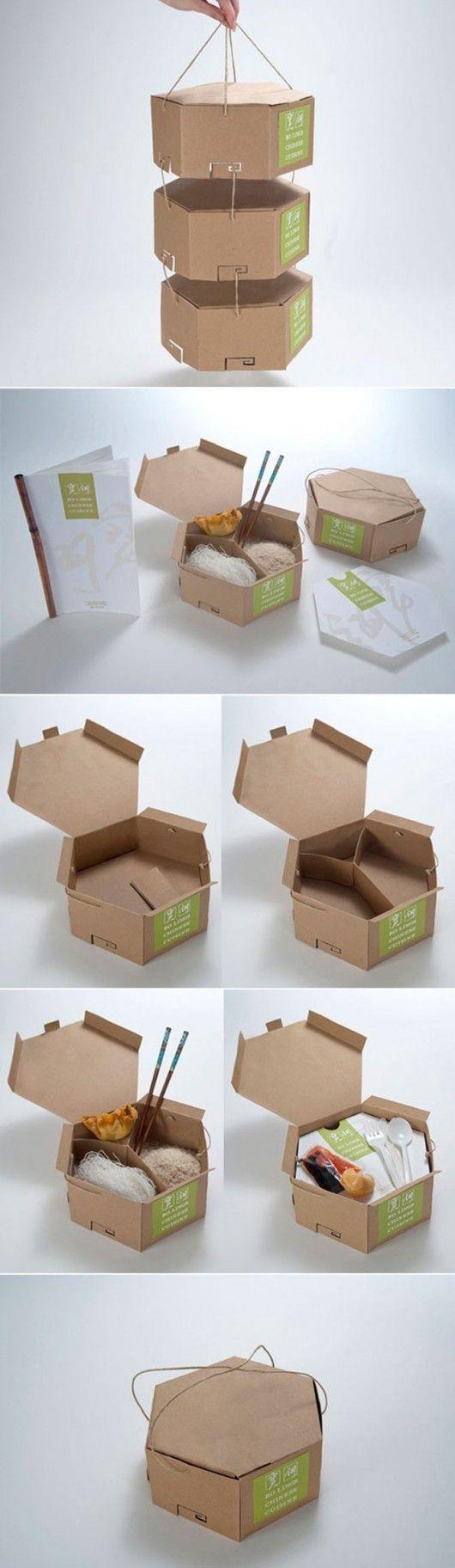 Les 25 meilleures id es de la cat gorie emballage caf sur - Idee repas a emporter ...
