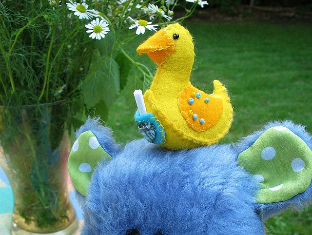 Lucky Ducky freebie pic 1 by Nosey Nest, via Flickr