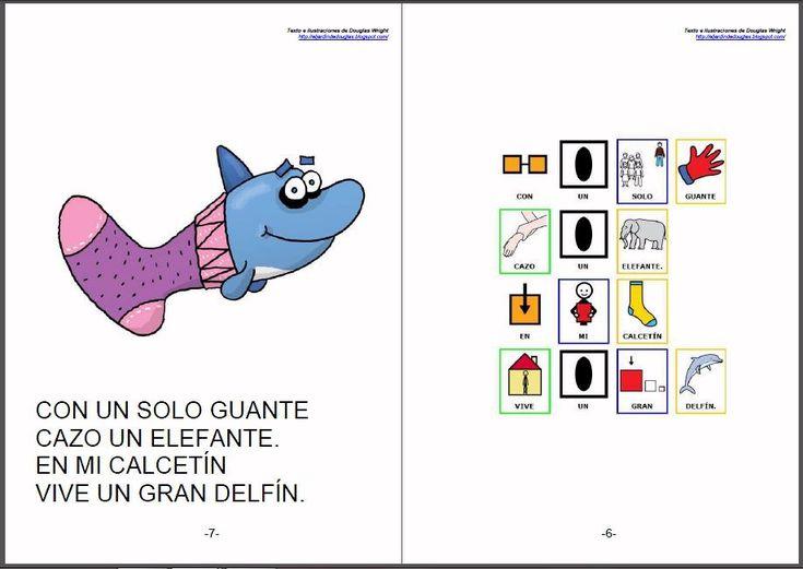 """CUENTOS ADAPTADOS - """"No puede ser"""".    Adaptación de cuentos y poesías de Douglas Wright a pictogramas para la comunicación.    Douglas Wright es ilustrador, humorista, creador de juegos visuales y autor de libros para chicos. Sus dibujos aparecen en libros y revistas de la Argentina y en diarios de otros países.     http://arasaac.org/materiales.php?id_material=578    Fuentes:  http://eljardindedouglas.blogspot.com/   http://otrosdouglas.blogspot.com/"""
