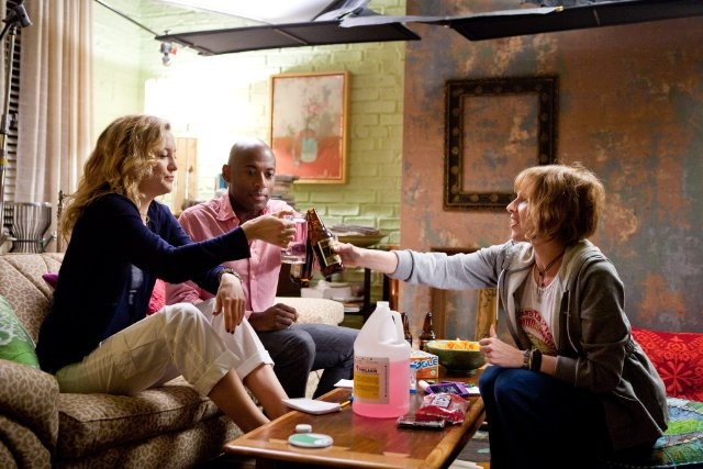 Still of Kate Hudson, Romany Malco and Lucy Punch in A Little Bit of Heaven