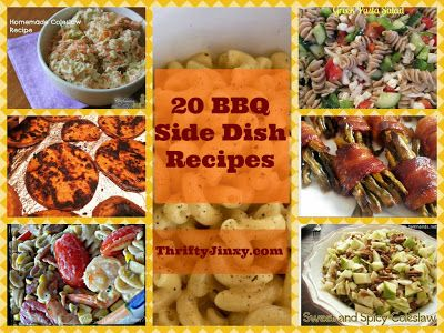 20 BBQ Side Dish Recipes (plus how to grill on a budget)