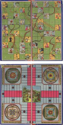 JDayMinis, Life, Antique Inspiration, Freebies: Free Images, Snakes and Ladders Game