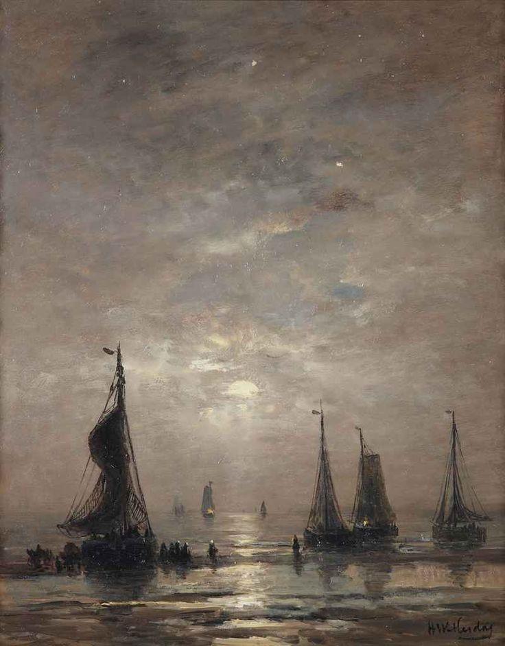 Avondstemming, Hendrik Willem Mesdag. Dutch (1831 - 1915)