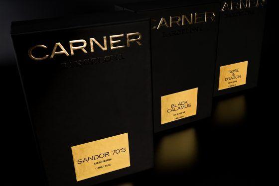 Black Collection, nowy projekt hiszpańskiej marki Carner Barcelona / Black Calamus, Sandor 70`s i Rose & Dragon
