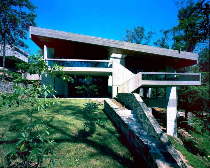 Harry and Penelope Seidler House, view from North, Killara, Sydney, 1966-67 | Harry Seidler