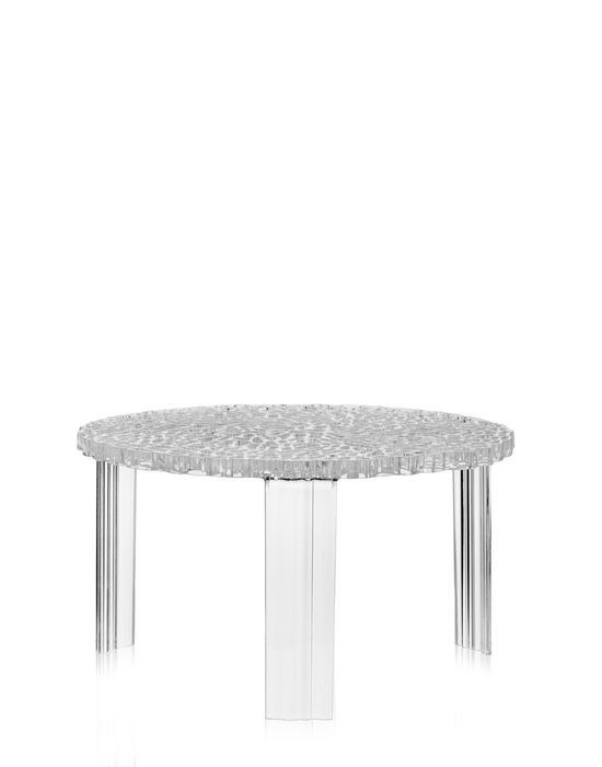 Kartell - T-Table - piccolo cristallo