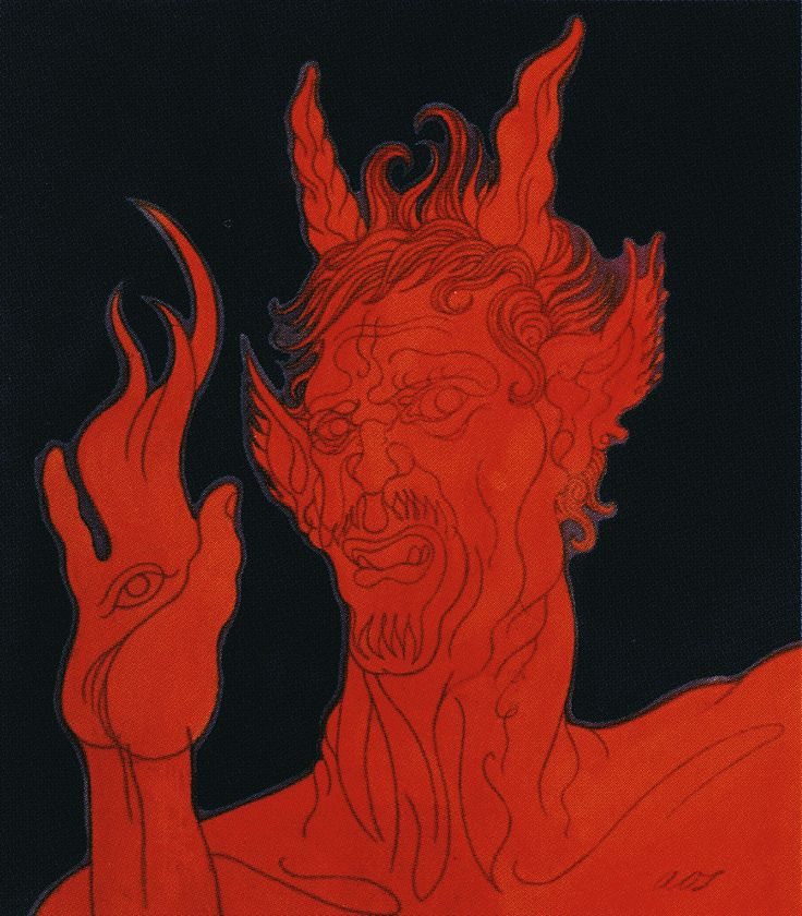 Fire Demon by Austin Osman Spare