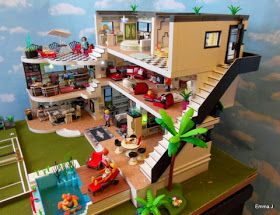 Les 25 meilleures id es de la cat gorie villa moderne for Playmobil villa moderne maison 4279