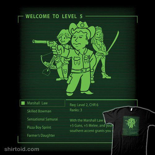Marshall Law #daryldixon #fallout #falloutnewvegas #gaming #locoroboco #michonne #rickgrimes #thewalkingdead #tvshow #videogame