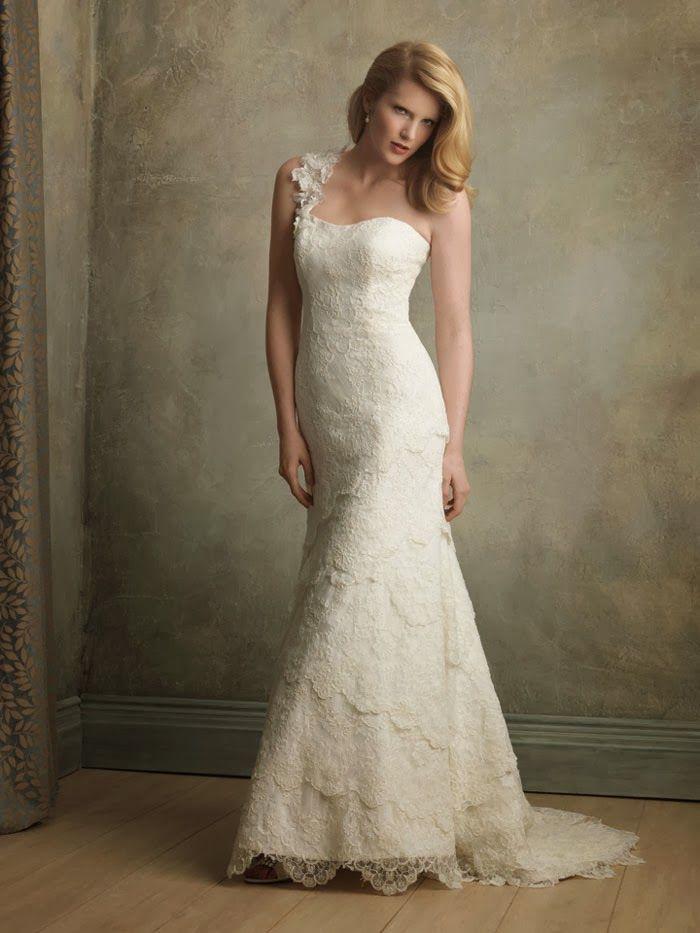 Antique Lace Wedding Dresses u2014 via Lace