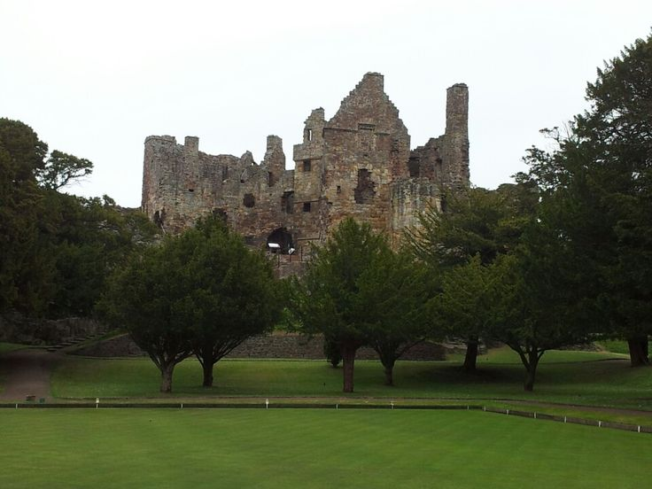 Dirleton Castle em North Berwick, East Lothian