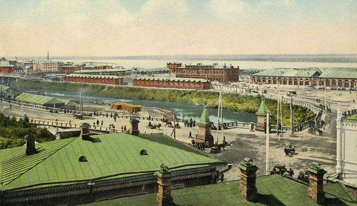 Tomsk, old market