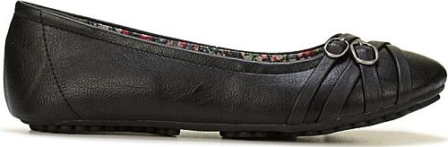 JELLYPOP Women's Shoes in Black Color. Add simple class to your look with the Express flat from Jellypop.