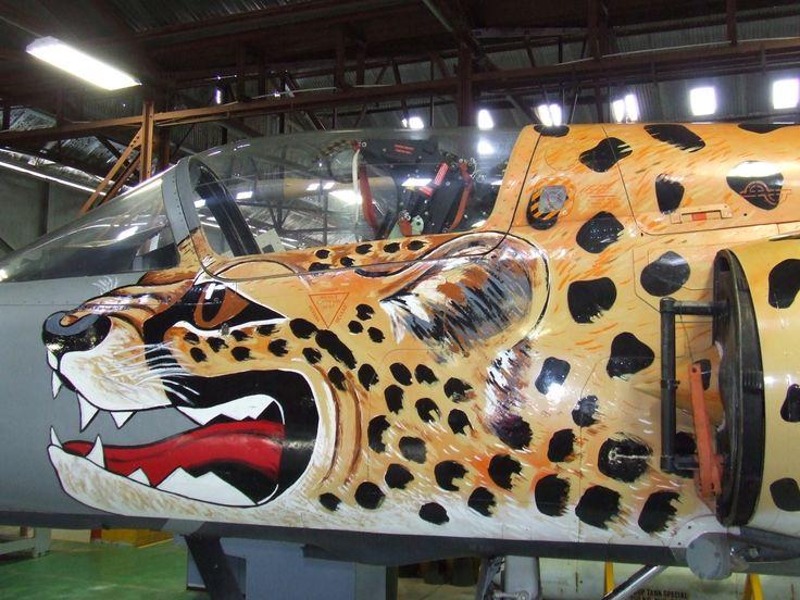 SAAF Museum Cheetah