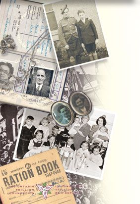 Family Stories, Treasured Memories   participatory curriculum-linked heritage sharing school program for grades 5-8   Sponsored by Ontario Trillium Foundation