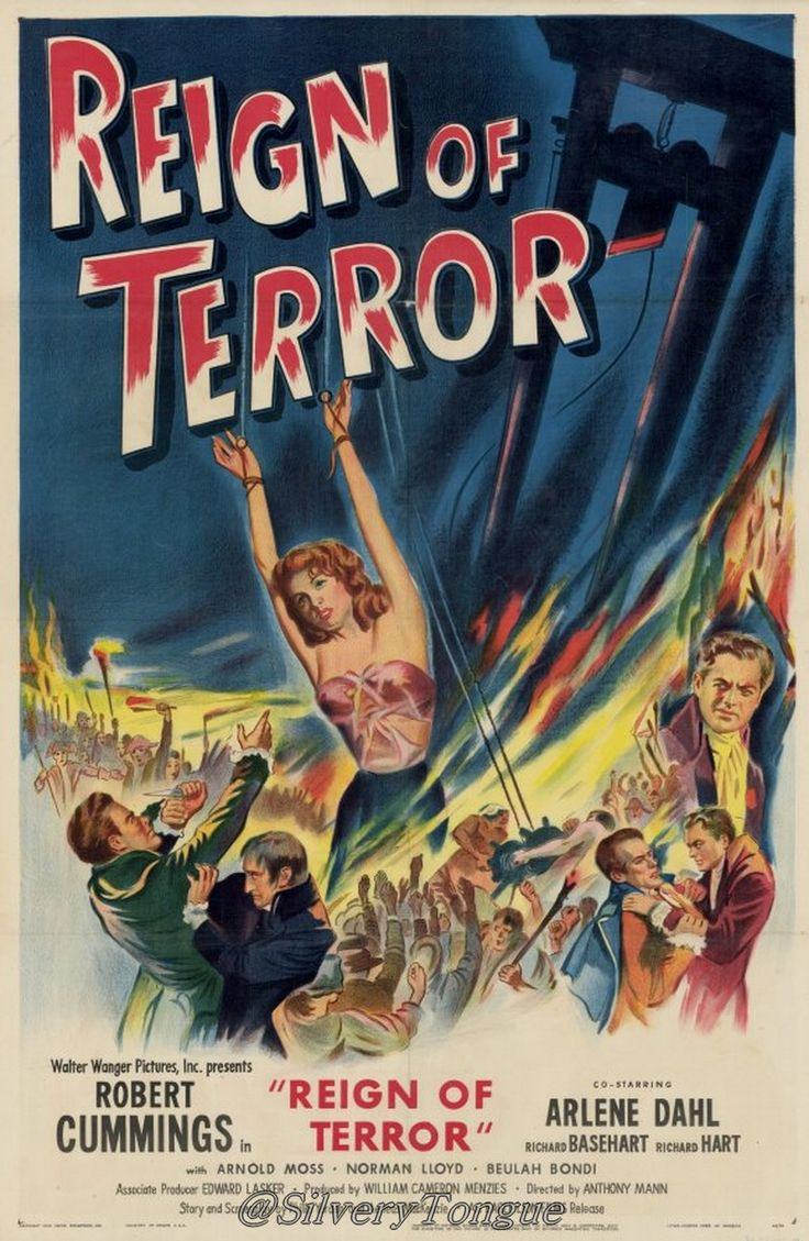 reign of terror The gothic subset of romantic literature is greatly influenced by the terrifying events in the french revolution known as the reign of terror.