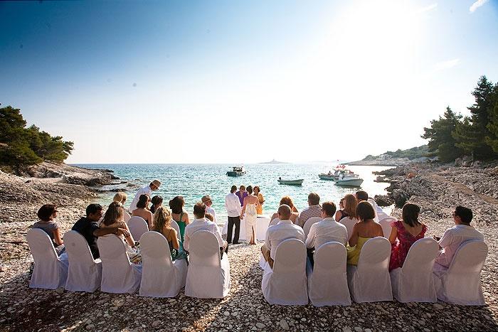 Beautiful wedding venue in Croatia