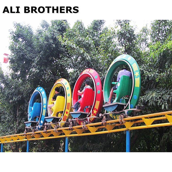 Cheap Fun Fair Amusement Equipment Pedal Air Bike Sliding Roller