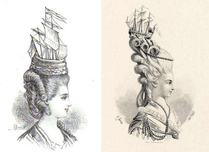 Головное украшение Марии-Антуанетты.