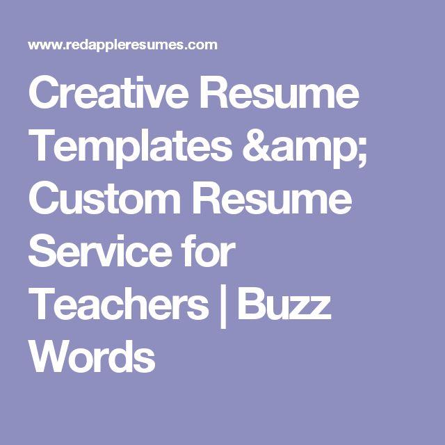 51 best resumes images on Pinterest Teacher resumes, Teacher - resume services