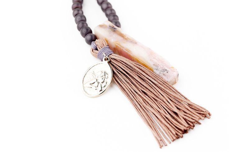HARMONY Angel Earth-Toned Necklace