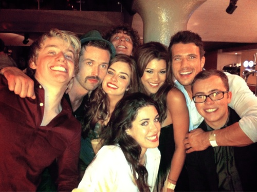 My new addiction. For sure, the coolest cast ever. #hollyoaks