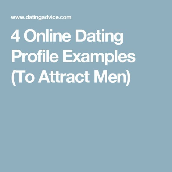 Example of dating profile for men over 50