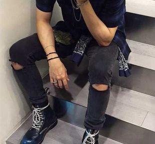 #taobaofocus #taobao #tmall #mens #jeans #autumn #black #таобаофокус #таобао #мужские #джинсы #осень #черные