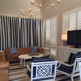 Look what Jemden Interiors did with our Beachcomber fabric. Well done, it looks fabulous