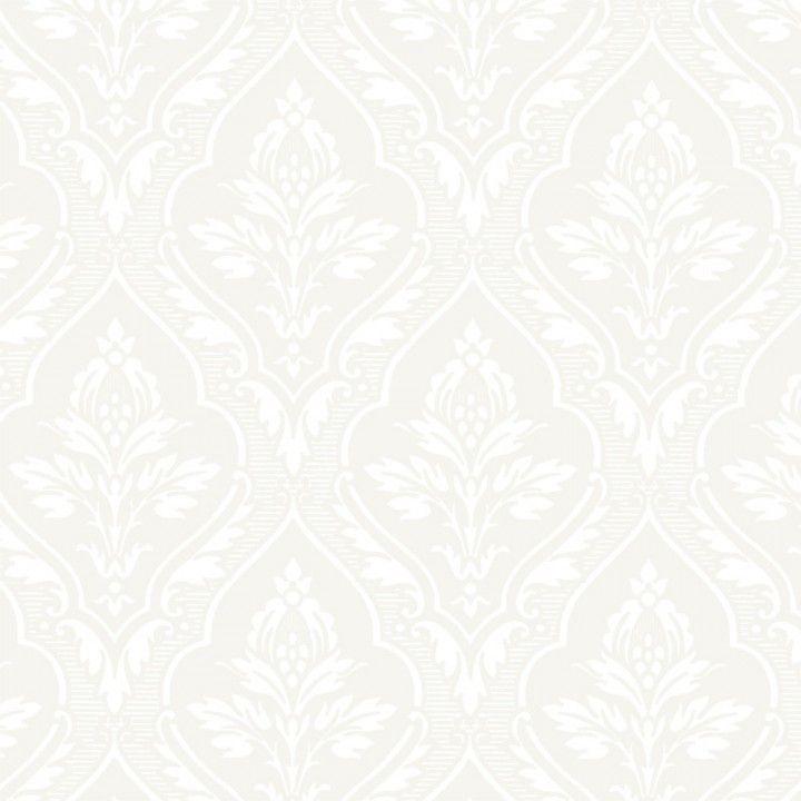 TAPET GAMMELSVENSK NYANS HAGA VIT - Mönstrade tapeter - Tapeter - Färg & Inredning