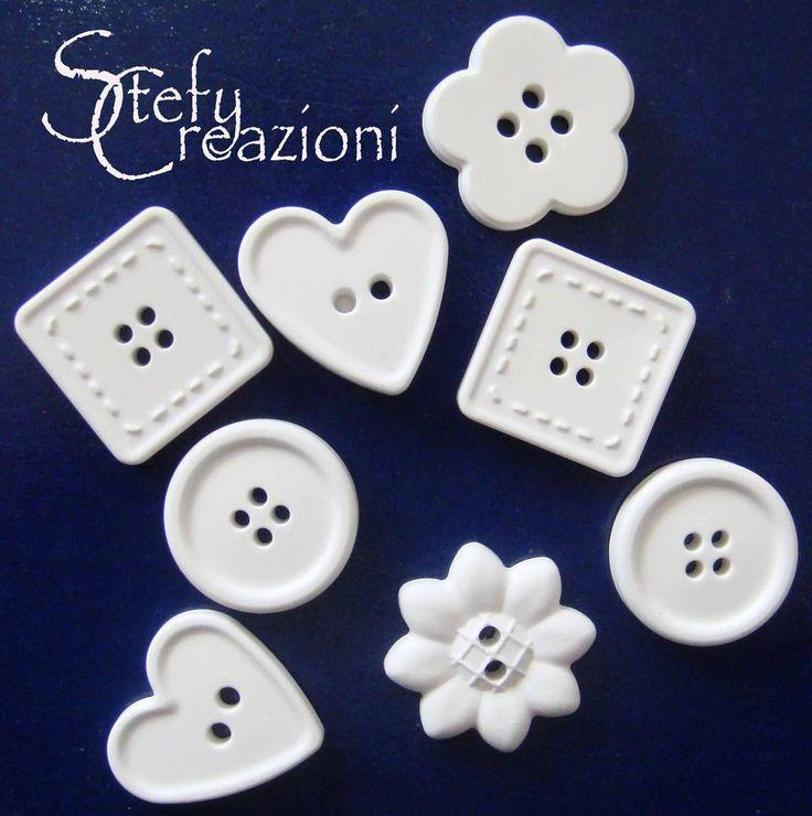 Bottone  Polvere Ceramica, by Stefy Creazioni, 0,20 € su misshobby.com