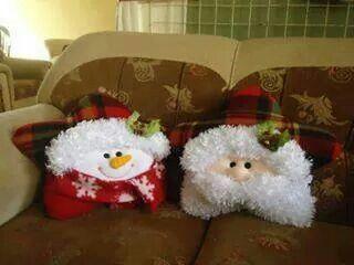 Almofadas natal