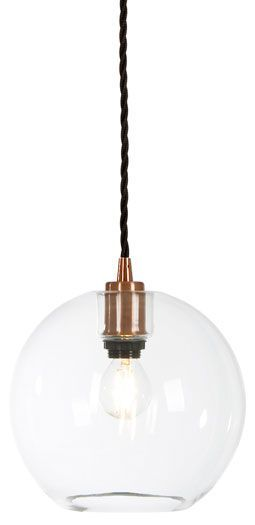Gloria T1070 - glass pendant. Made in Sweden by Belid