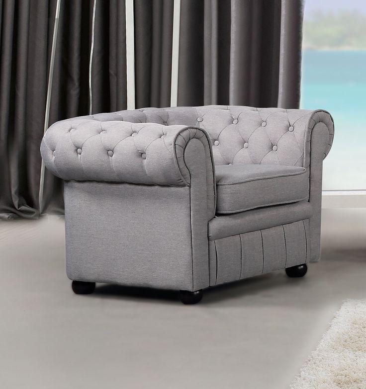 VELAGO - AVIGNON Fabric Armchair