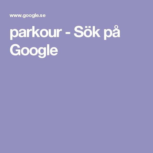 parkour - Sök på Google
