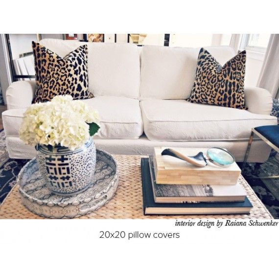Love this. But I'm gonna have to a little switch - since my couch is cheetah print, I'll need beige pillows. Haha!