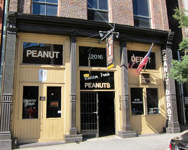 Stop by the Peanut Depot and grab some local peanuts! Here you'll find a recipe for homemade peanut butter. Yum!