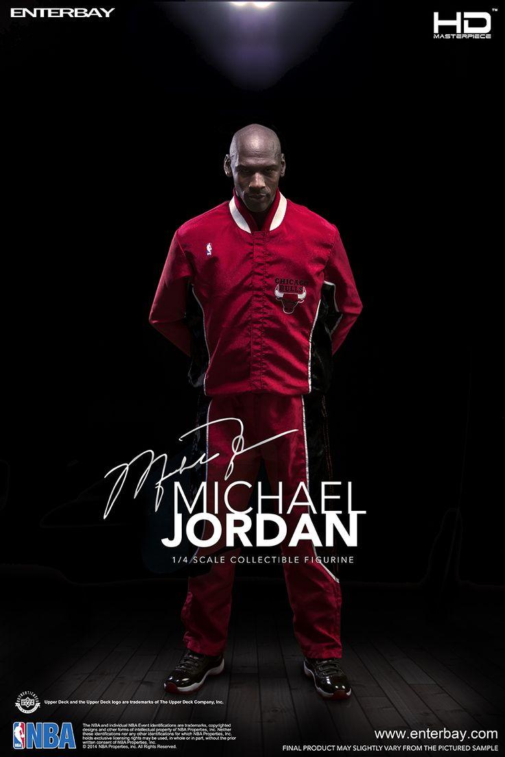 ENTERBAY HD Masterpiece 1:4 Scale Michael Jordan Action Figure