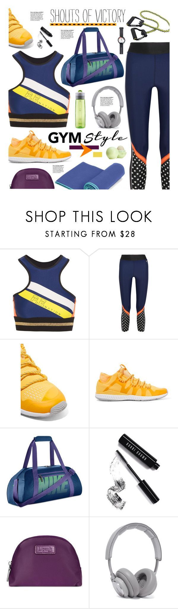 """Work It Out: Gym Essentials"" by hamaly ❤ liked on Polyvore featuring P.E Nation, adidas, NIKE, Bobbi Brown Cosmetics, Lipault, B&O Play and Ÿù Get a $100 Adidas Gift Card!  Adidas, Adidas Sneakers, Adidas Outlet, Adidas Nmd, Adidas Shoes, Adidas Apparel, Adidas Boost, Adidas Boost Shoes, Adidas Clothing, Adidas Dress, Adidas Essentials, Adidas Kids, Adidas Leggings, Adidas Nmd Runner, Adidas Quality, Adidas Superstar, Adidas Store, Adidas Vs Nike, Adidas Zipper, Adidas Zappos, Adidas…"