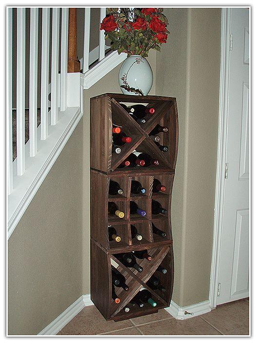 curvy cube wine racks are a hit wine storage cubes