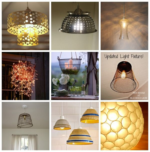 Upcycled Lamps And Lighting Ideas: 191 Best Upcycled, Repurposed Lighting Images On Pinterest